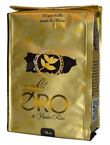 Cafe de Oro de Puerto Rico 14oz / Gold Coffee from Puerto Rico 14oz (2 Bags)