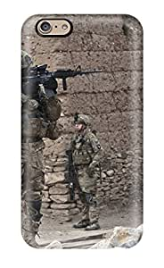 Iphone 6 Cover Case - Eco-friendly Packaging(us Infantry Military War Soldier Man Made Military)