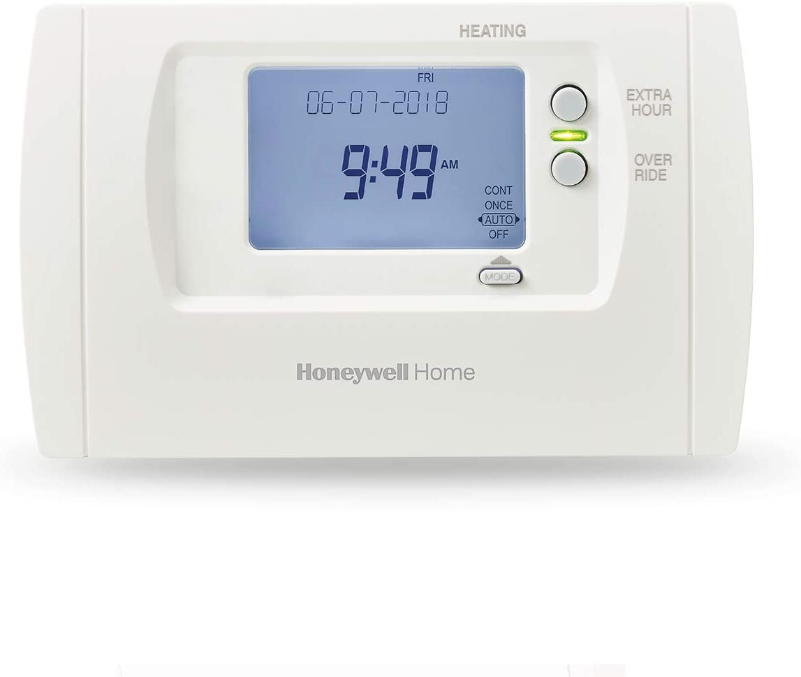 White Honeywell Home THR850SWE TM1 Digital Timer