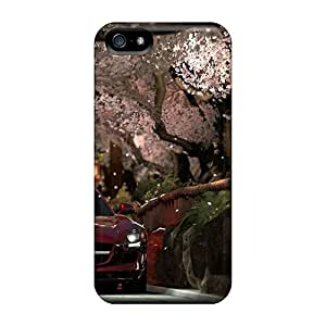 Fashion Case Awesome Mercedes Benz Sls Amg Under Sakura KbVJBcq5OjU Flip case cover With Fashion Design For Iphone 5/5s
