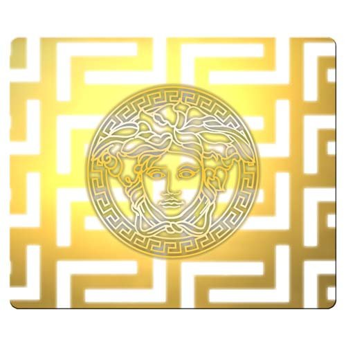 26x21cm 10x8inch Mousepad rubber - cloth Computer accurate versace