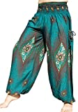 #8: Full Funk Alibaba Baggy Arabian Pants with Smock Waist and Two Pockets in Rayon