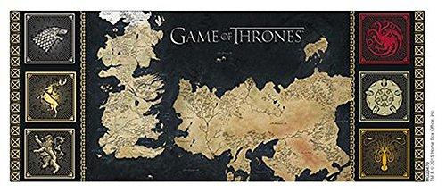 Game Of Thrones Tasse Map Amazon De Küche Haushalt