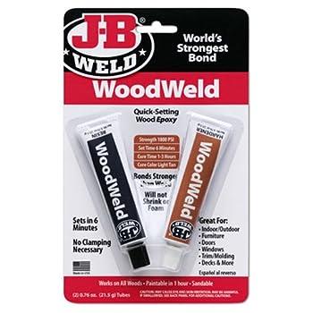 WoodWeld Quick Setting Wood Epoxy Adhesive