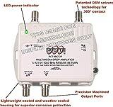 2-Port Bi-Directional Cable TV HDTV Amplifier