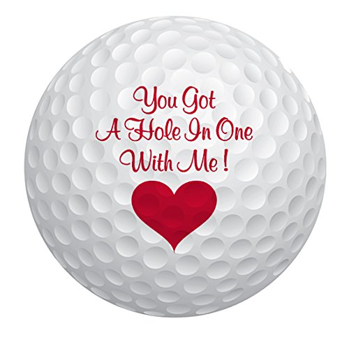 Romantic Balls Golf Gift for Valentines Day or Christmas