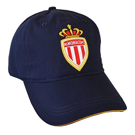 AS MONACO Casquette Collection Officielle - Football - Taille réglable