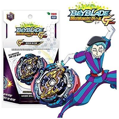 Burst GT B-142 Booster Judgement Joker .00T.Tr Zan [斬] Cut Off Beyblades Stater Set with B-78 Bey String Launcher Black High Performance Battling Top: Toys & Games