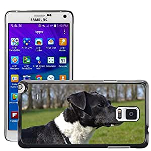 Hot Style Cell Phone PC Hard Case Cover // M00115631 Dog Spring Sweet Water Summer // Samsung Galaxy Note 4 IV