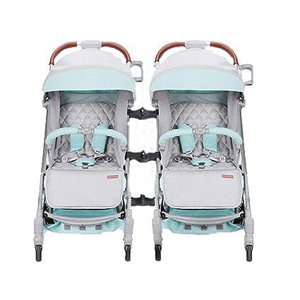 Silla Paseo con Doble Cochecito, Cochecito bebé Buggy Diseño ...