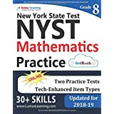 New York State Test Prep: 8th Grade Math Practice Workbook and Full-length Online Assessments: NYST Study Guide