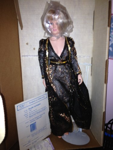 Celebrity Series Krystle Carrington DYNASTY ABC Series 1985 Limited Edition Molded Vinyl Fashion Collectible 19