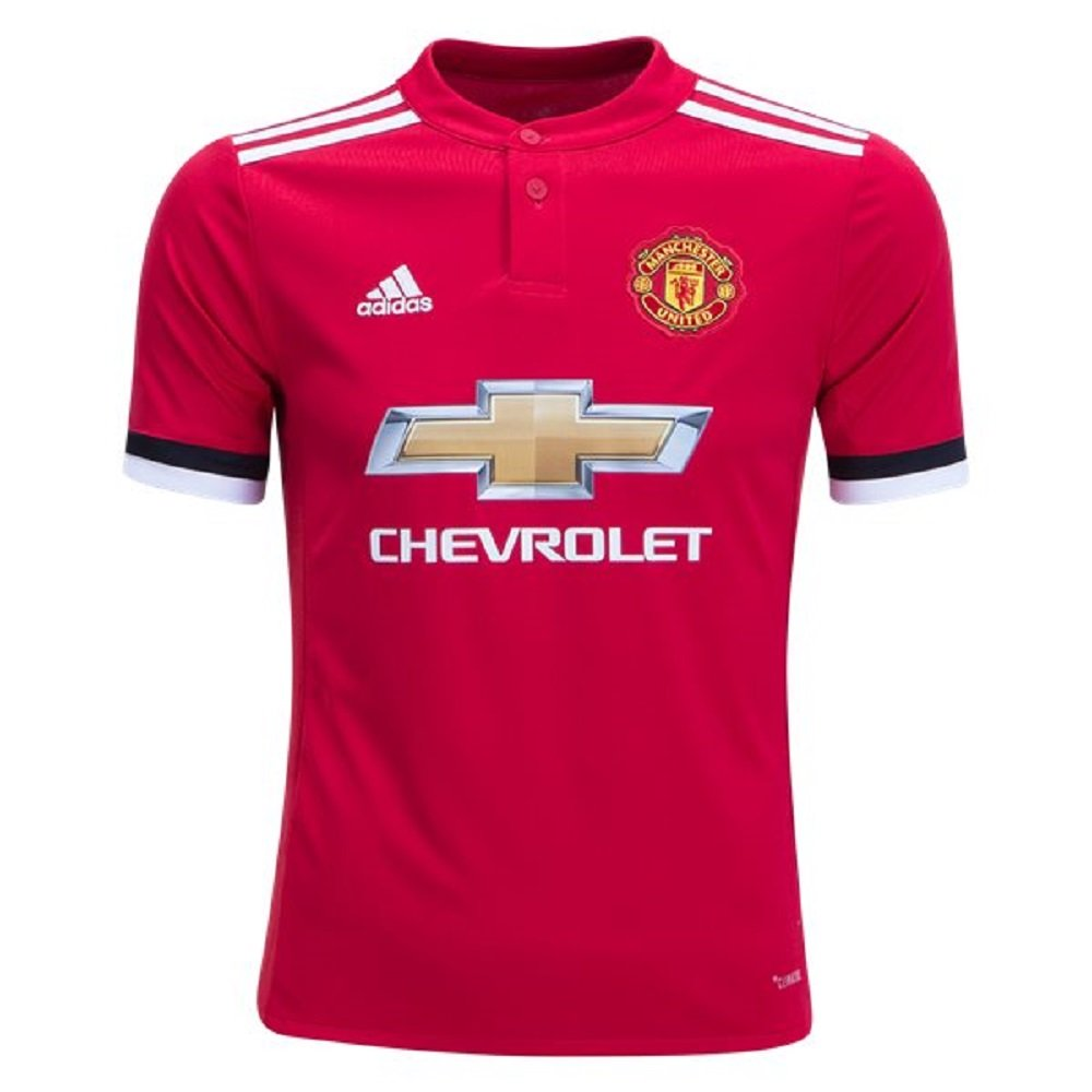 adidas Manchester United FC Home Youth Jersey [REARED] (XL) by adidas