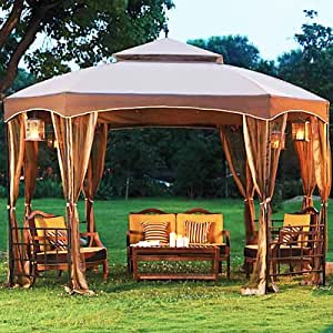 Amazon Com Open Box Sienna Octagon Gazebo Replacement