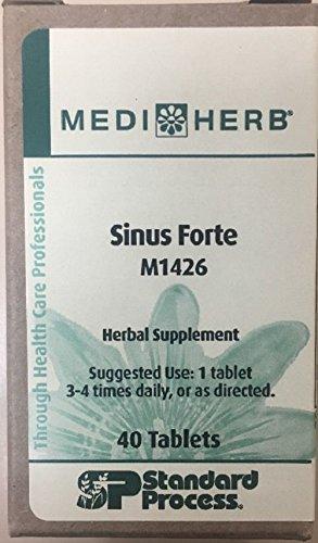 - MediHerb Sinus Forte, 40 tablets