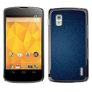Be Good Phone Accessory // Dura Cáscara cubierta Protectora Caso Carcasa Funda de Protección para LG Google Nexus 4 E960 // Texture Wallpaper Pattern Classy