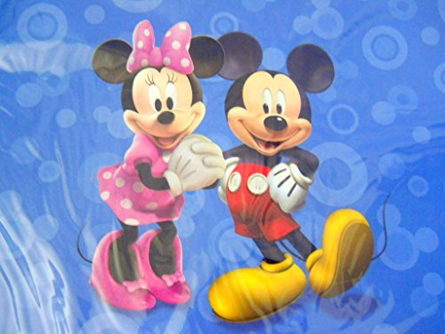 New Disney Mickey Mouse Clubhouse Set of 4 Paper Place Mats Including Minnie (Place Kids Store)