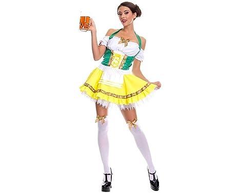 Amazon.com: Traje sexy Oktoberfest de cerveza para Halloween ...