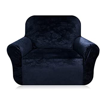High Quality Velvet Plush Stretch Sofa Covers   Fit Stretch Stylish Furniture Protector Sofa  Slipcovers Armchair, 1