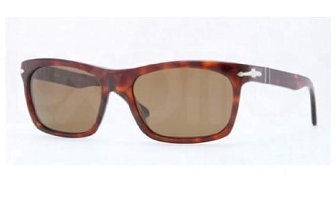 83c0b380c0bc5 Persol 24 57 Tortoise 3062S Wayfarer Sunglasses Polarised Lens Category 3  Size  Amazon.co.uk  Clothing
