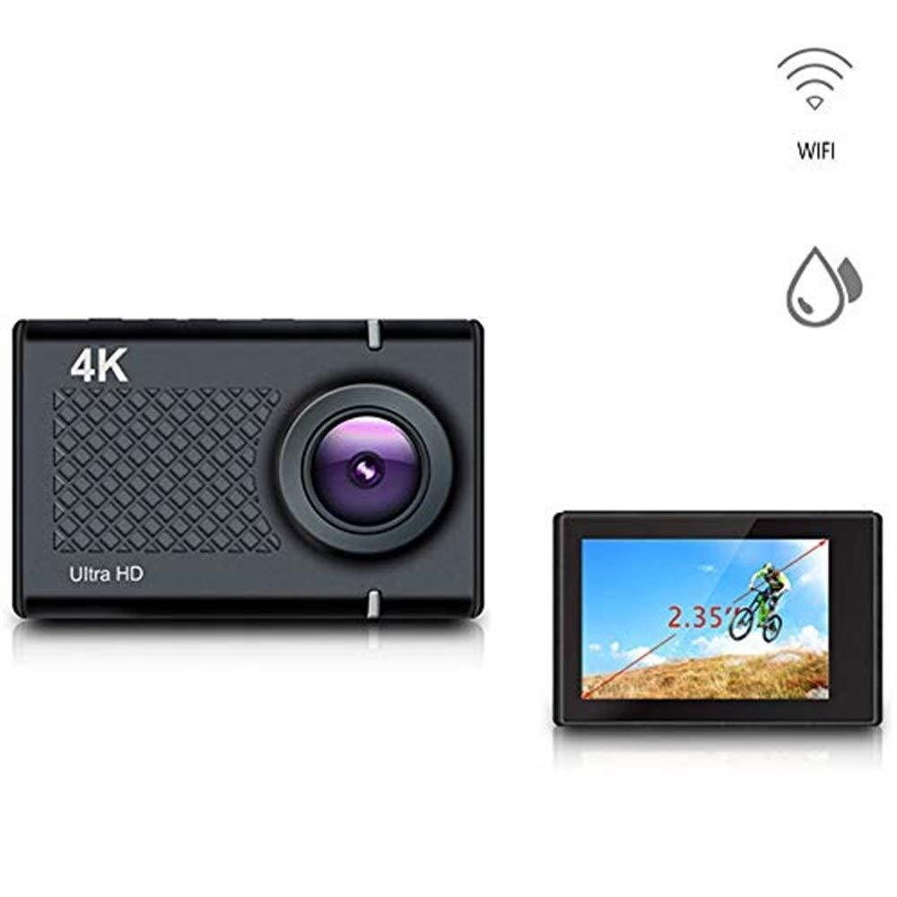 アクションカメラ スポーツカメラ、WIFI水中ダイビングカメラアクションカメラ付きミニ16MP 4K屋外スポーツカメラスキー水泳用エクストリームスポーツ カメラ   B07RNCXZVX
