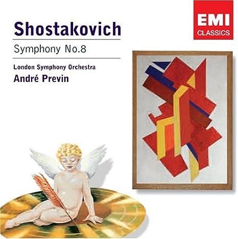 Shostakovich: Symphony No.8: London Symphony Orchestra (LSO), André Previn,  London Symphony Orchestra (LSO), André Previn: Amazon.it: CD e Vinili}