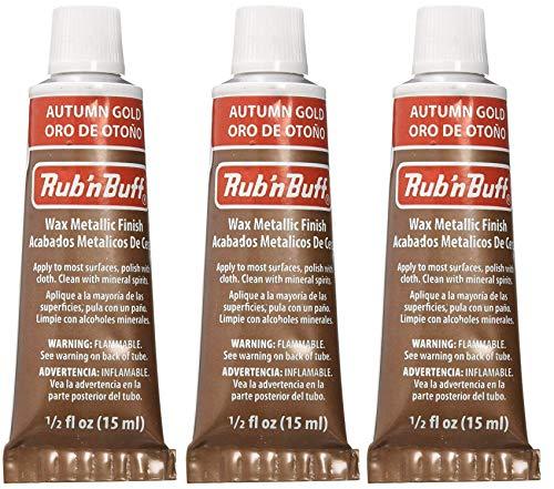 Rub 'n Buff The Original Wax Metallic Finish autumn gold [PACK OF 3 ]