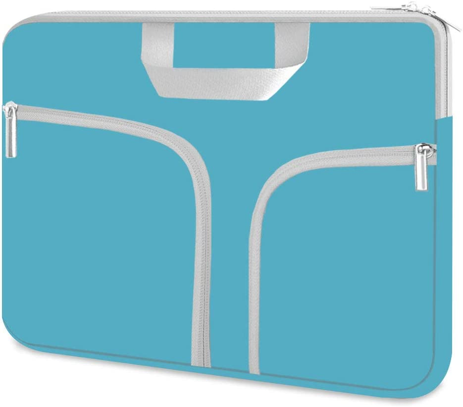 HESTECH Chromebook Case, 11.6-12.5 inch Neoprene Laptop Sleeve Case Bag Handle Compatible with Acer Chromebook r11/HP Stream/Samsung Chromebook/MacBook air 11/ Surface Pro3/Pro4,Teal