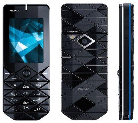 (Nokia 7500 Prism Tri-Band GSM Phone Unlocked)