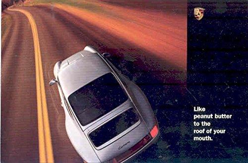 1995 Porsche 911 996 Coupe Large Postcard