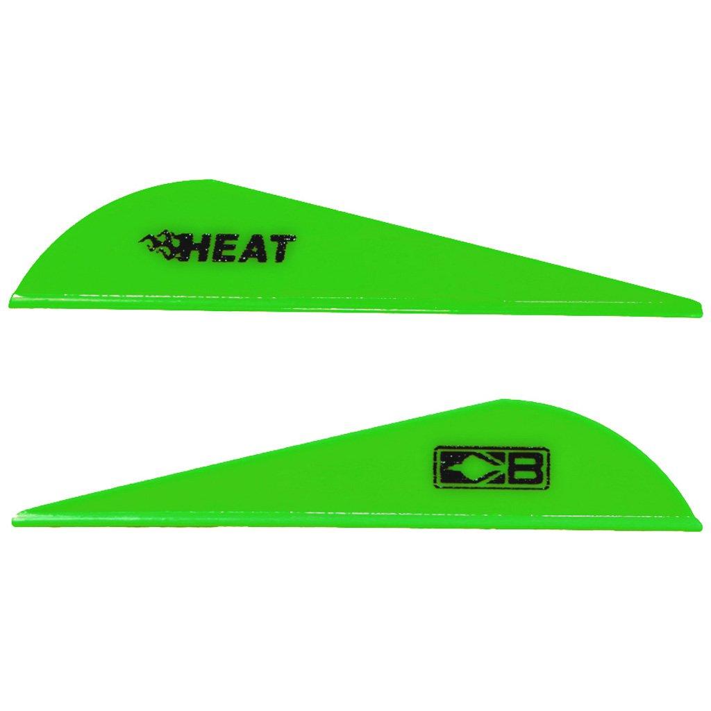 Bohning 2.5'' Heat Vanes Neon Green 2.5'' Heat Vane, 36pk