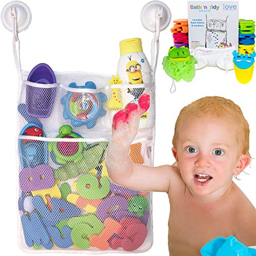 Lillys Love Bath Toy Organizer