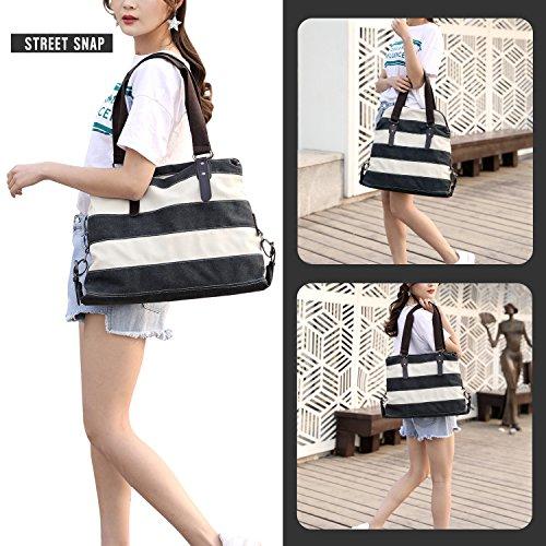 Shopping Tote Bags Large Top Bag Bag Casual Canvas Beach Shoulder LOSMILE Handbags Bag Women's bag Handle wxqz1I6pgn
