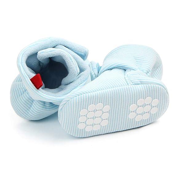 Non-Slip Baby Infants Cotton Socks TINGO Baby Socks 0-6 Months, Light Blue Unisex Toddler Anti-Skid Warm Baby Socks for 0-18 Months Newborn Baby Boys and Girls