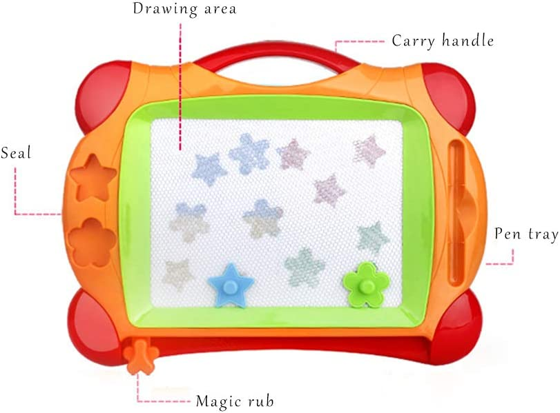 Medium Color Drawing Board Graffiti Early Education Educational Toy Drawing Board Gift Suitable for Children Learning Preschool Education Childrens Magnetic Drawing Board