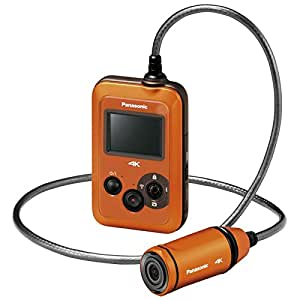 Panasonic HX-A500E-D 4K Wearable Camcorder - Orange