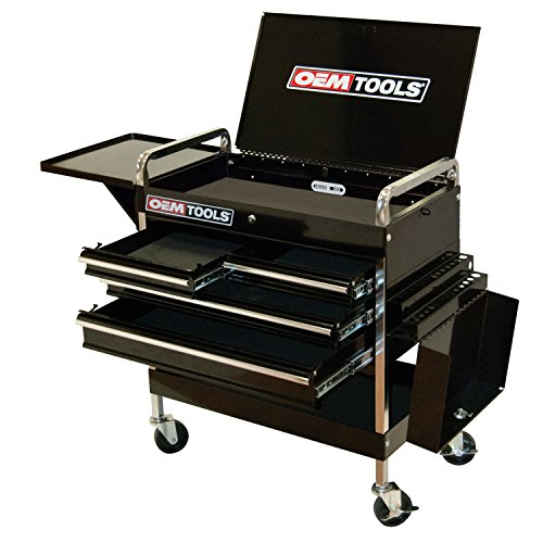 OEMTOOLS 24962  Service Cart with Four Drawers and One ()