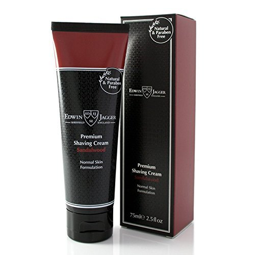- Edwin Jagger 99.9% Natural Shaving Cream (sandalwood) In 75ml Tube Scswt by Edwin Jagger