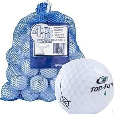 Top Flite 48 Recycled Golf Balls in Mesh Bag - 577412