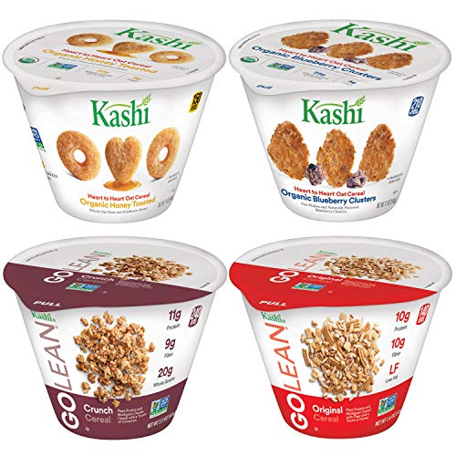 Kashi Breakfast Cereal in a Cup, Assortment Pack, Bulk Size (Pack of 36 - Golean Cereal