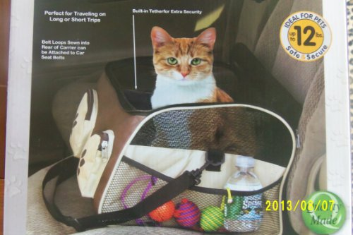 Pet Store 3-in-1 Pet Booster/Car Seat & Carrier