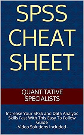 Spss Cheat Sheet Increase Your Spss And Data Analytic