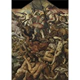 The high quality polyster Canvas of oil painting 'The Fall of the Rebel Angels by Frans Floris I,1554' ,size: 8x11 inch / 20x28 cm ,this High quality Art Decorative Canvas Prints is fit for Wall art artwork and Home gallery art and Gifts