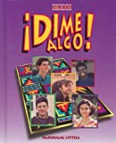 Dime Algo!, MCDOUGAL LITTEL, 0669433381