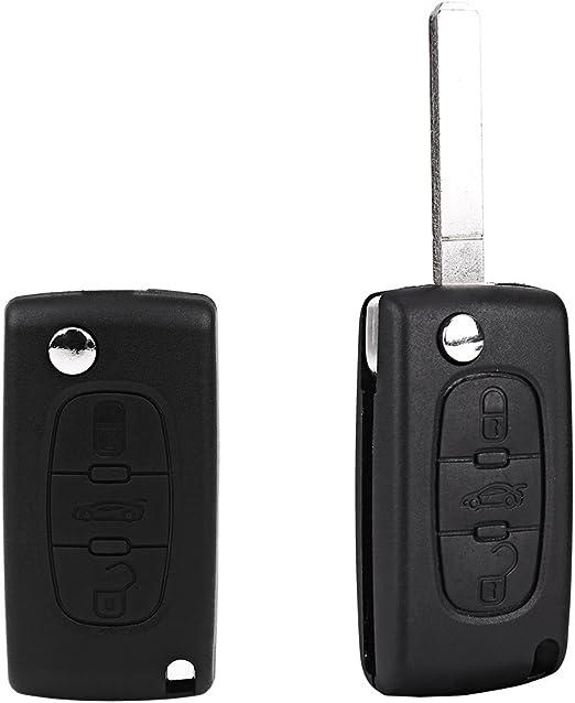 3 Tasten Schlüsselgehäuse Für Peugeot 407 407 Sw Elektronik