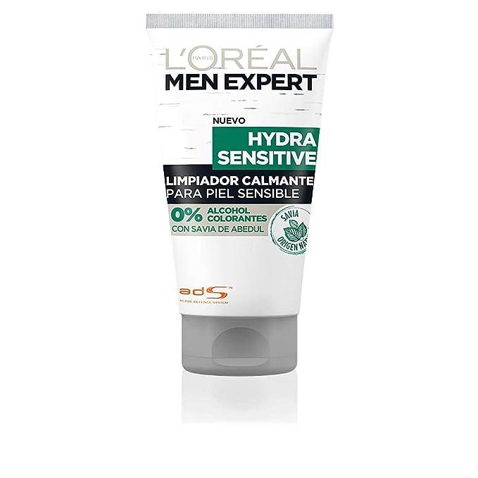 LOreal Paris Men Expert Gel de Ducha Calmante Hydra Sensitive para Hombre Lot de 6