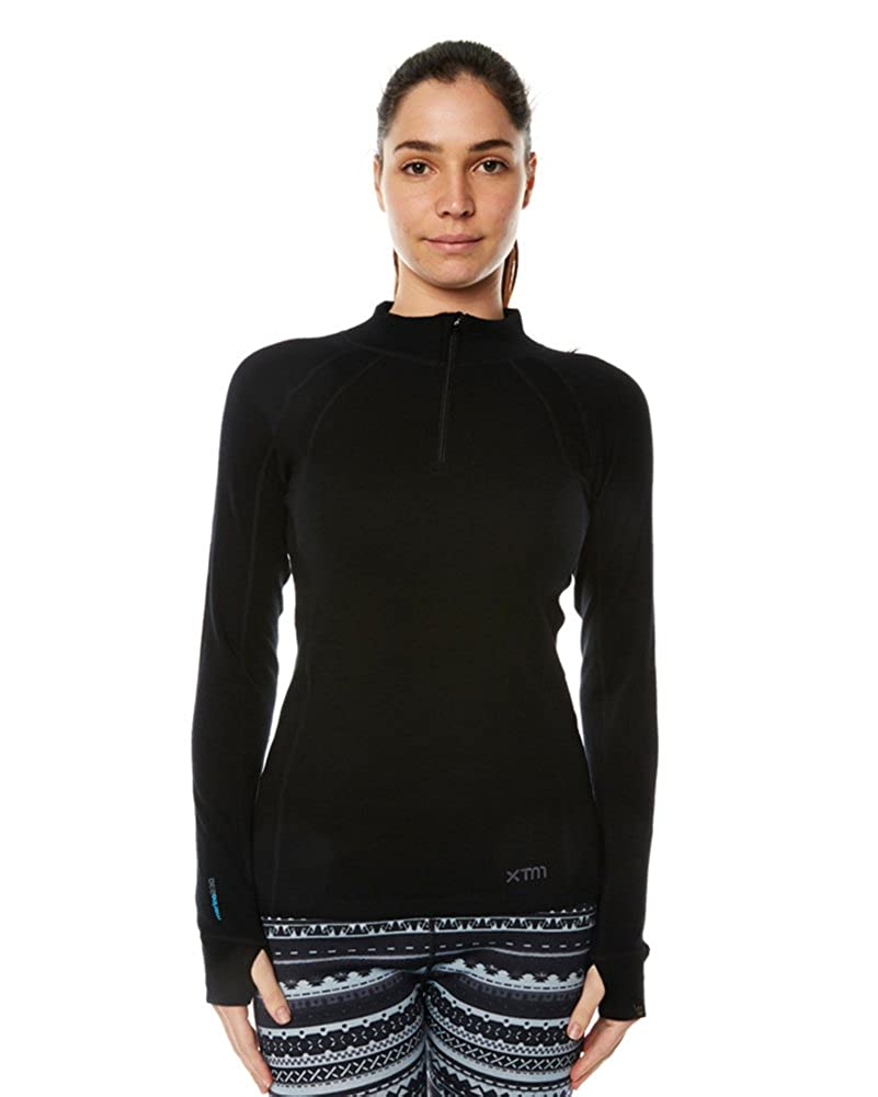 XTM Ladies Merino Zip Neck Top