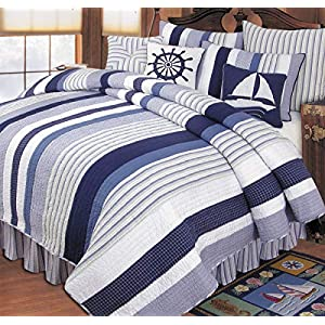 51zwPcw2YIL._SS300_ Coastal Bedding Sets & Beach Bedding Sets