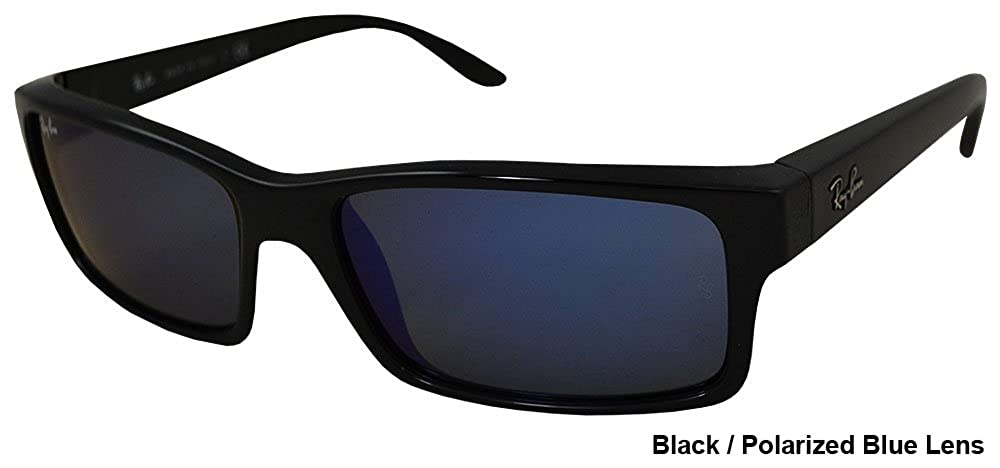 84200880267 Amazon.com  Ray Ban RB4151 Sunglasses-601 68 Black (Blue Lens)-59mm   Clothing