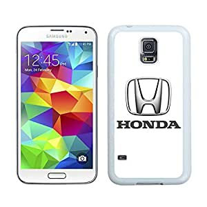 Unique and Nice Case Honda logo 1 Samsung Galaxy S5 I9600 Case in White by runtopwell